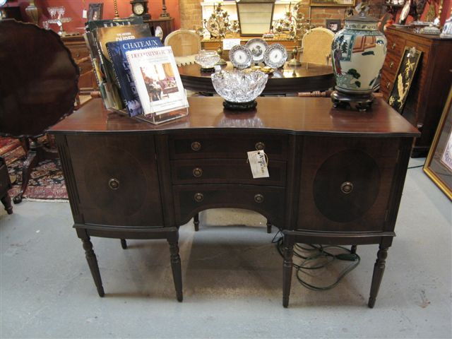 Antiques Franklin TN B63. Lovely Vintage Sheraton Style Sideboard. $695.00
