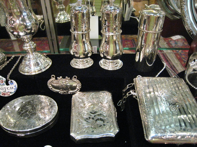 Nashville We Have A Large Selection Of Sterling Card Cases, Compacts, Vases, Napkin Rings, Etc.
