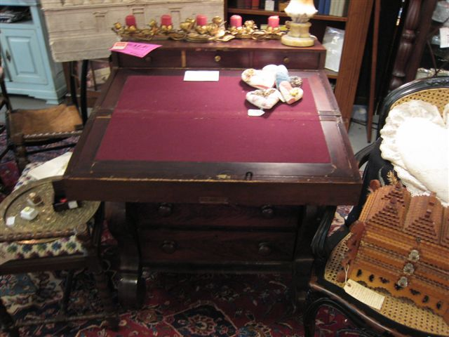 Antiques Franklin TN B63 Empire Fold Down Desk. 1495.00